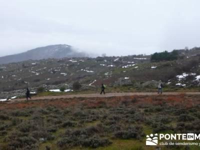 Somosierra - Camino a Montejo;mochila trekking;senderismo montaña burgos